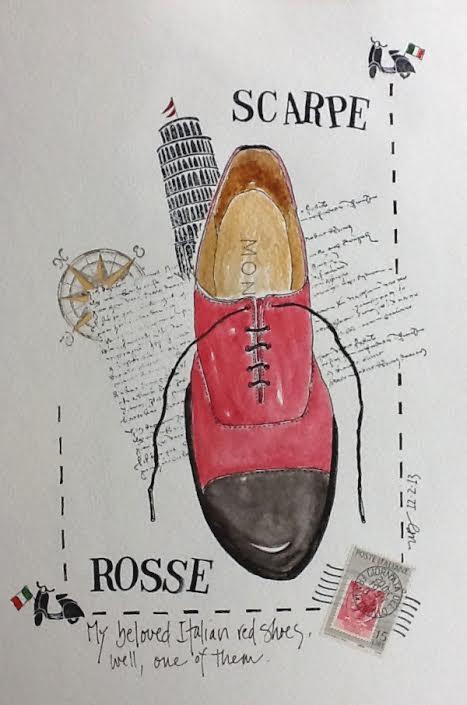 A Red Shoe Affair